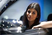 Geneva Motorshow 2013 - booth babe