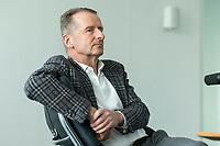 30 MAR 2020, WOLFSBURG/GERMANY:<br /> Herbert Diess, Vorstandsvorsitzender Volkswagen AG, nach einem Interview, VW Konzernzentrale<br /> IMAGE: 20200330-01-052
