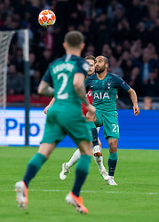 08-05-2019 NED: Semi Final Champions League AFC Ajax - Tottenham Hotspur, Amsterdam<br /> After a dramatic ending, Ajax has not been able to reach the final of the Champions League. In the final second Tottenham Hotspur scored 3-2 / Lucas #27 of Tottenham Hotspur