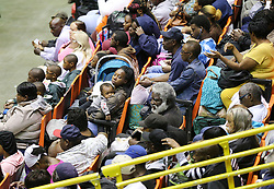 Hundreds of local residents being evacuated from the city fill the Savannah Civic Center during a mandatory evacuation for Hurricane Irma on Saturday, September 9, 2017, in Savannah, Ga. Officials are expecting 1,500 to 3,000 without transportation to leave by buses that are being provided. Photo by Curtis Compton/Atlanta Journal-Constitution/TNS/ABACAPRESS.COM