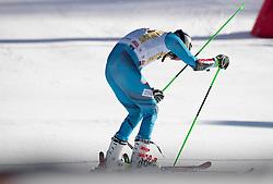 18.12.2016, Grand Risa, La Villa, ITA, FIS Ski Weltcup, Alta Badia, Riesenslalom, Herren, 2. Lauf, im Bild Henrik Kristoffersen (NOR) // Henrik Kristoffersen of Norway reacts after his 2nd run of men's Giant Slalom of FIS ski alpine world cup at the Grand Risa race Course in La Villa, Italy on 2016/12/18. EXPA Pictures © 2016, PhotoCredit: EXPA/ Johann Groder