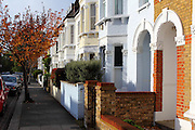 Victorian Terraces, Parsons Green, London SW6