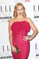 Charlotte Dellal, ELLE Style Awards 2016, Millbank London UK, 23 February 2016, Photo by Richard Goldschmidt