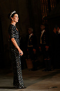 Gala dinner on the occasion of the civil wedding of Grand Duke Guillaume and Princess Stephanie at the Grand-Ducal palace in Luxembourg <br /> <br /> On the photo: Princess Caroline of Monaco