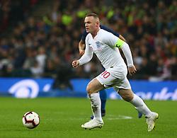 November 15, 2018 - London, United Kingdom - England's Wayne Rooney .during the friendly soccer match between England and USA at the Wembley Stadium in London, England, on 15 November 2018. (Credit Image: © Action Foto Sport/NurPhoto via ZUMA Press)