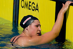 Katja Hajdinjak of PK Olimpija at 36th International swimming meeting City of Ljubljana Cup, on May 22, 2011 in Kodeljevo pool, Ljubljana, Slovenia. (Photo By Vid Ponikvar / Sportida.com)
