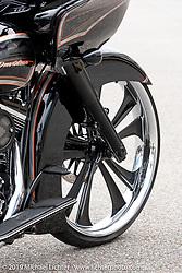 The Chopp Shop's Shannon Davidson's custom 2015 Harley-Davidson Road Glide with Metalsport Wheels owned by Marty Smith of North Carolina.  Daytona Beach Bike Week, FL. USA. Tuesday, March 12, 2019. Photography ©2019 Michael Lichter.