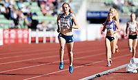 Friidrett ,  11. juni 2015 , Diamond League , Bislett Games , Oslo<br />  Atheltics<br /> 1500 m<br /> Ewa Jacniak , POL