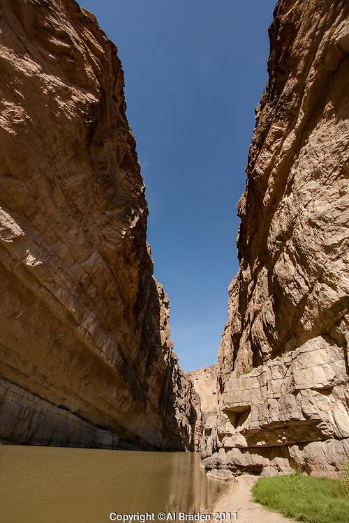 Canyon Walls, Santa Elena Canyon, Big Bend National Park, Texas