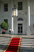 Red carpet at The White House, Washington DC, United States of America