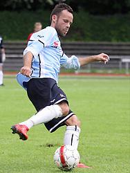 FODBOLD: Morten Juul Hansen (Helsingør) under kampen i Danmarksserien, pulje 1, mellem AB Tårnby og Elite 3000 Helsingør den 12. juni 2010 på Tårnby Stadion. Foto: Claus Birch