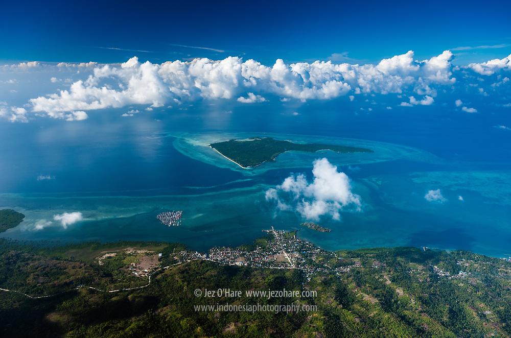 Ambeua & Sampela villages, Hoga & Kaledupa Islands, Wakatobi National Park, Tukang Besi Islands, South East Sulawesi, Indonesia