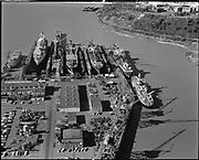 """ackroyd-P380-21 """"drydocks. February 9, 1968"""" (Swan Island)"""