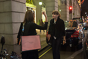 HEATHER KERZNER; JASMINE GUINNESS,, Tatler magazine Jubilee party with Thomas Pink. The Ritz, Piccadilly. London. 2 May 2012