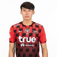THAILAND - MARCH 06: Veerapat Nilburapha #89 of True Bangkok United on March 06, 2019.<br /> .<br /> .<br /> .<br /> (Photo by: Naratip Golf Srisupab/SEALs Sports Images/MB Media Solutions)