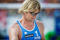 29. Juni 2009 , VM Sandvolleyball , beachvolleyball , stavanger , Norge - USA , Bjørn Maaseide , Norge , Foto: Tommy Ellingsen