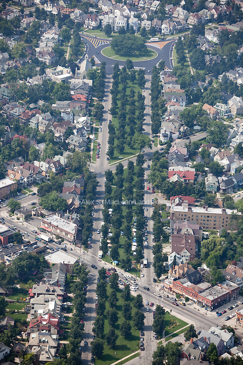 Bidwell Ave to Colonial Circle from the Elmwood Strip