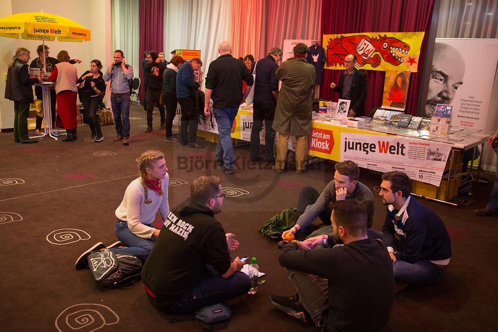 Berlin, Germany - 14.01.2017<br /> <br /> Rosa-Luxemburg conference 2017 at Mercure Hotel MOA Berlin.<br /> <br /> Rosa-Luxemburg-Konferenz 2017 im Mercure Hotel MOA Berlin. <br /> <br /> Photo: Bjoern Kietzmann