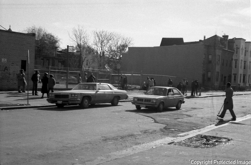12th and U Street NW Washington DC, 1987