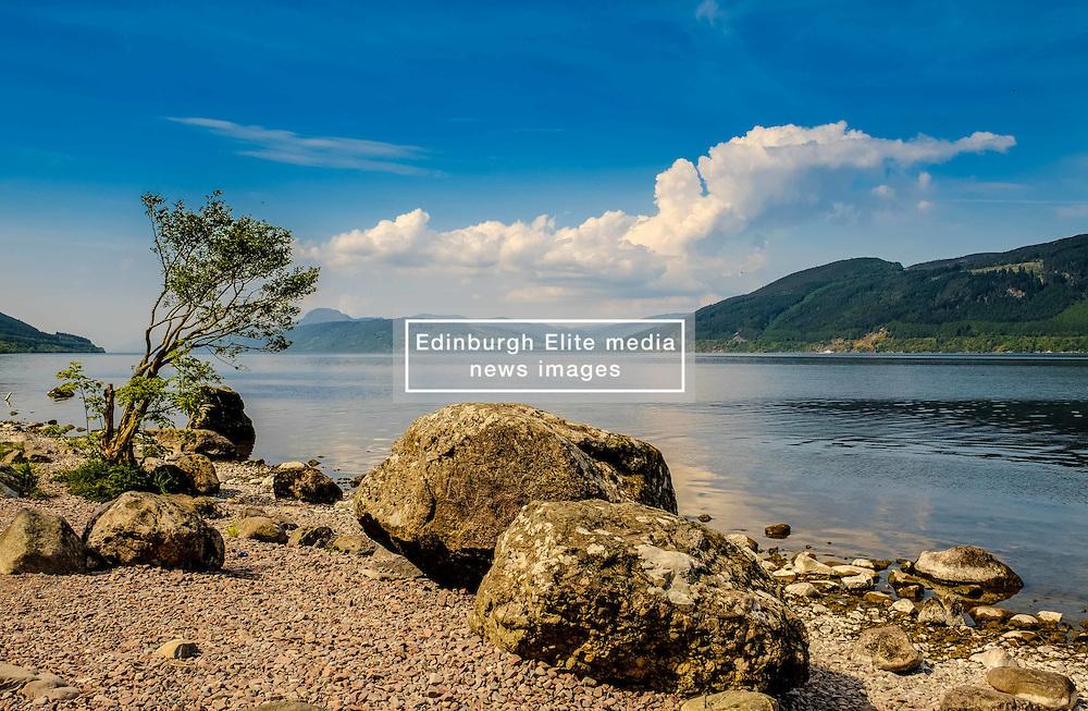 Looking over Loch Ness from the eastern shore near Foyers<br /> <br /> (c) Andrew Wilson | Edinburgh Elite media