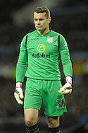 Goalkeeper Shay Given of Aston Villa looking on. The FA cup, 6th round match, Aston Villa v West Bromwich Albion at Villa Park in Birmingham, Midlands on Saturday 7th March 2015<br /> pic by John Patrick Fletcher, Andrew Orchard sports photography.