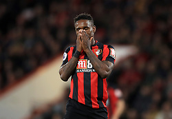 AFC Bournemouth's Jermain Defoe reacts after a missed chance during the Premier League match at the Vitality Stadium, Bournemouth.