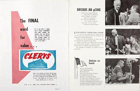 All Ireland Senior Hurling Championship Final,.01.09.1968, 09.01.1968, 1st September 1968,.Senior Tipperary v Wexford, .Minor Wexford v Cork, Wexford 5-08 Tipperary 3-12,..Clerys, ...Duchas Ar gCine, .1960 Nick O'Donnell, .1962 Tony Wall, .1965 Jimmy Doyle,