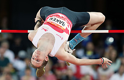 England's Chris Baker in the Men's High Jump Final at the Carrara Stadium during day seven of the 2018 Commonwealth Games in the Gold Coast, Australia.
