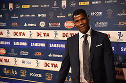 December 3, 2018 - Milan, Italy - Brazilian former football player Aldair Nascimento dos Santos guest of ''Gran Gal del Calcio'', gala reserve for the awards of the best players of the 2017/2018 season of the italian Serie A Tim, witch is held in Megawatt Court in Milan, Italy. (Credit Image: © Andrea Diodato/NurPhoto via ZUMA Press)