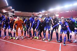 January 19, 2019 - Monaco, France - EQUIPE DE FOOTBALL DE STRASBOURG - JOIE - FAIR PLAY (Credit Image: © Panoramic via ZUMA Press)