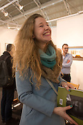 REBECCA MEANLEY, Preview for the London Art Fair,  Islington Business Design Centre. London. 13 January 2014