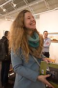 REBECCA MEANLEY, Preview for the London Art Fair,  Islington Business Design Centre. London. 13 January 2014