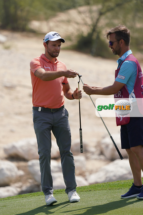 Maximilian Kieffer (GER) during the third round of the Commercial Bank Qatar Masters 2020, Education City Golf Club , Doha, Qatar. 07/03/2020<br /> Picture: Golffile   Phil Inglis<br /> <br /> <br /> All photo usage must carry mandatory copyright credit (© Golffile   Phil Inglis)