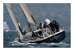 Bell Lawrie Scottish Series 2008. Fine North Easterly winds brought perfect racing conditions in this years event..Class 1 GBR9641R Local Hero