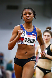 womens 1000, Kenyetta Iyevbele, HOKA One One, NJ*NYTC<br /> David Hemery Valentine Invitational<br /> Indoor Track & Field at Boston University , HOKA,