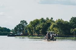 THEMENBILD - ein Luftboot waehrend einer Sumpf-Tour, aufgenommen am 06.08.2019, New orleans, Vereinigte Staaten von Amerika // an airboat during a swamp tour, New Orleans, United States of America on 2019/08/06. EXPA Pictures © 2019, PhotoCredit: EXPA/ Florian Schroetter