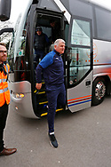 Glynn Hodges First Team Manager of Wimbledon arriving at the ground during the EFL Sky Bet League 1 match between Accrington Stanley and AFC Wimbledon at the Fraser Eagle Stadium, Accrington, England on 1 February 2020.