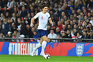 Harry Maguire of England during the UEFA European 2020 Qualifier match between England and Czech Republic at Wembley Stadium, London, England on 22 March 2019.