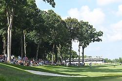 July 15, 2018 - Silvis, Illinois, U.S. - SILVIS, IL - JULY 15:  A general view of the TPC Deere Run course during the final round of the John Deere Classic on July 15, 2018, at TPC Deere Run, Silvis, IL.  (Photo by Keith Gillett/Icon Sportswire) (Credit Image: © Keith Gillett/Icon SMI via ZUMA Press)