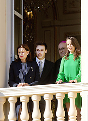 November 19, 2017 - Monte Carlo, MONACO - 19-11-2017 Monaco Princess Stephanie of Monaco, Louis Ducruet, and Pauline Ducruet during the Monaco National Day Celebrations in Monaco...© PPE/NieboerCredit: PPE/face to face.- No rights for the Netherlands  (Credit Image: © face to face via ZUMA Press)