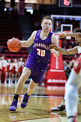 NORMAL, IL - January 05: Noah Frederking during a college basketball game between the ISU Redbirds and the University of Evansville Purple Aces on January 05 2019 at Redbird Arena in Normal, IL. (Photo by Alan Look)