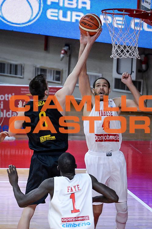 DESCRIZIONE : Varese FIBA Eurocup 2015-16 Openjobmetis Varese Telenet Ostevia Ostende<br /> GIOCATORE : Nedim Buza<br /> CATEGORIA : Tiro<br /> SQUADRA : Telenet Ostevia Ostende<br /> EVENTO : FIBA Eurocup 2015-16<br /> GARA : Openjobmetis Varese - Telenet Ostevia Ostende<br /> DATA : 28/10/2015<br /> SPORT : Pallacanestro<br /> AUTORE : Agenzia Ciamillo-Castoria/M.Ozbot<br /> Galleria : FIBA Eurocup 2015-16 <br /> Fotonotizia: Varese FIBA Eurocup 2015-16 Openjobmetis Varese - Telenet Ostevia Ostende