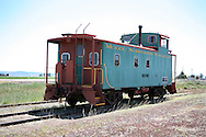 Modoc Caboose, still ready for action