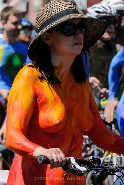 2015 Fremont Solstice Parade in Seattle, WA USA
