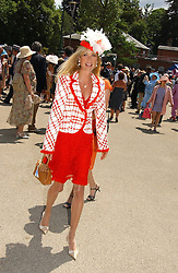 MRS BEN SANGSTER at the first day of the Royal Ascot racing festival 2006 at Ascot Racecourse, Berkshire on 20th June 2006.<br /><br />NON EXCLUSIVE - WORLD RIGHTS