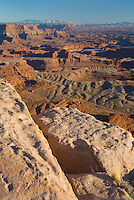 View from overlook at Dead Horse Point State Park Utah