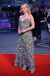 © Licensed to London News Pictures. 15/10/2017. London, UK. KATHRYN NEWTON attends the Three Billboards Outside Ebbing Missouri Film UK Premiere showing as part of the 51st BFI London Film Festival. Photo credit: Ray Tang/LNP