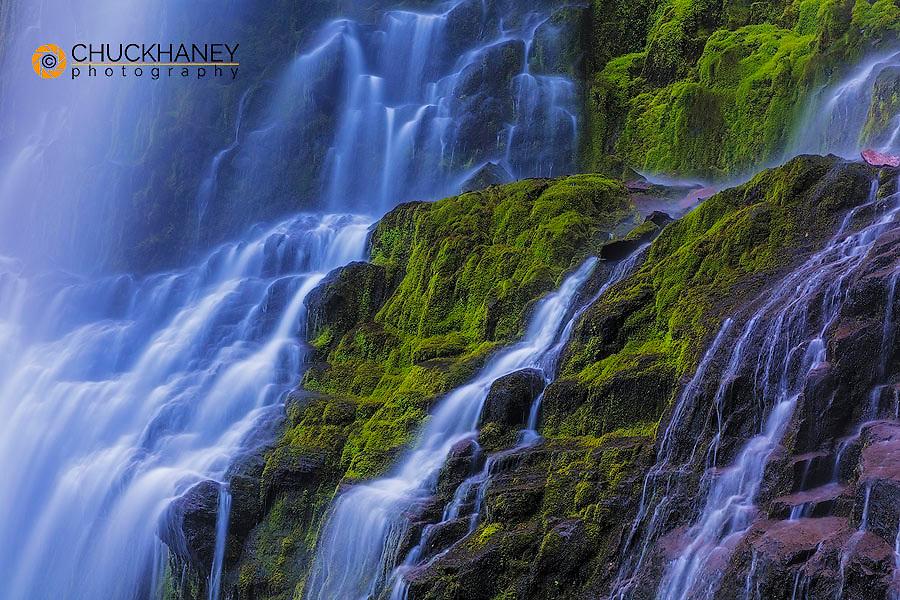 Proxy Falls in the Three Sisters Wilderness, Oregon, USA