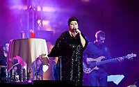 20.07.2012 Bialystok 3 Festiwal Pozytywne Wibracje N/z Ewa Bem fot Michal Kosc / AGENCJA WSCHOD