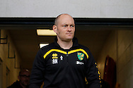 Norwich City manager Alex Neil during the EFL Sky Bet Championship match between Burton Albion and Norwich City at the Pirelli Stadium, Burton upon Trent, England on 18 February 2017. Photo by Richard Holmes.